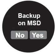 button backup langie