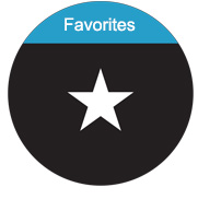 langie button favorites