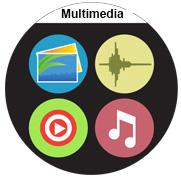 playback of multimedia langie